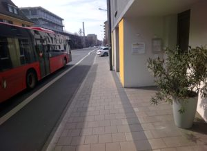 Beim Spazierengehen in Erlangen - Aufnahme mit Google Glass.